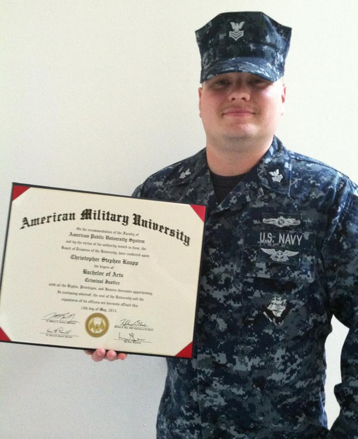 Chris knapp earned his bachelor of arts in criminal