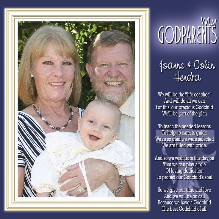 A special dedication to the Godparents