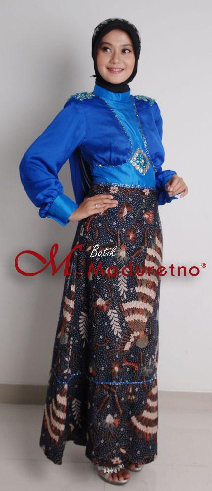 Fashion abaya from batikmaduretno.com