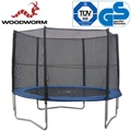Woodworm 10ft Trampoline with Enclosure | oo.com.au
