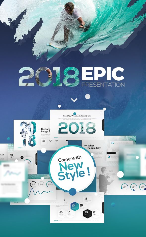 2018 Epic Presentation Template Business Powerpoint