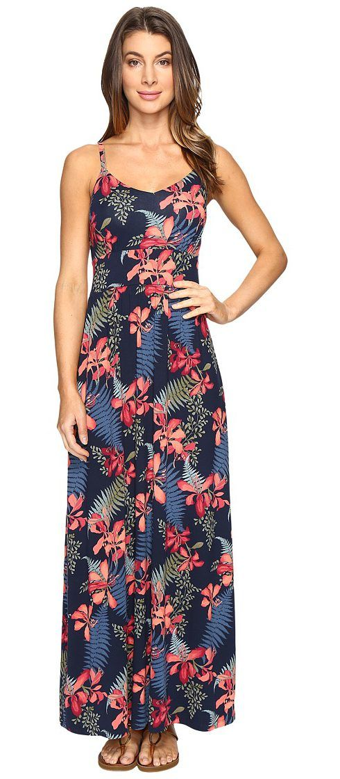 Tommy Bahama Sacred Grove Sleeveless Maxi Dress (Ocean Deep) Women's Dress - Tommy Bahama, Sacred Grove Sleeveless Maxi Dress, TW615997-5478, Apparel Top Dress, Dress, Top, Apparel, Clothes Clothing, Gift, - Fashion Ideas To Inspire