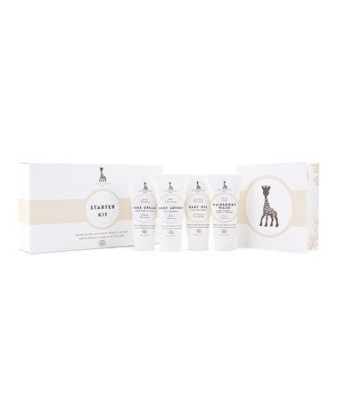This Sophie la Girafe Baby Skincare Starter Set by Vulli is perfect! #zulilyfinds