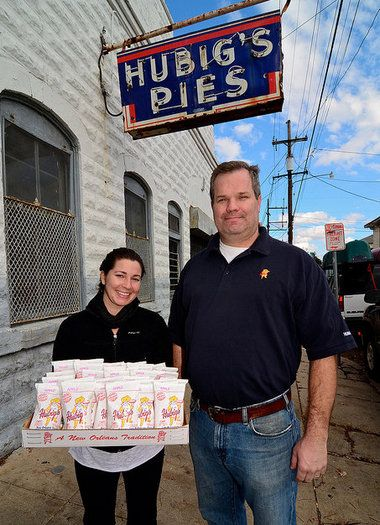 If you've been to a parade, picnic, or prison here in the Big Easy, there's a good chance you've eaten a Hubig's pie. The delectable dessert has been part of the city's culinary and cultural fabric since 1922, when Simon Hubig opened his bakery in a small Bywater warehouse.