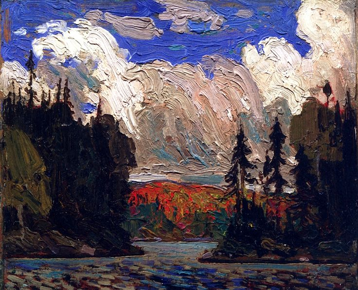 Black Spruce in Autumn Tom Thomson - 1915