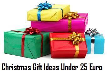 10 Practical Christmas Gift Ideas under 25 Euro
