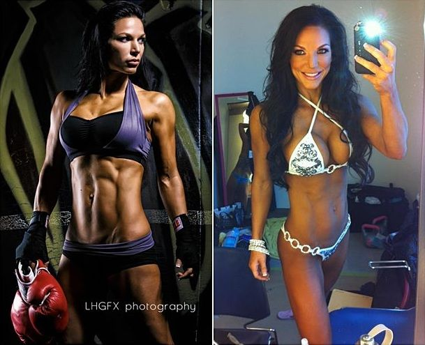Mandy White workout routine and nutrition