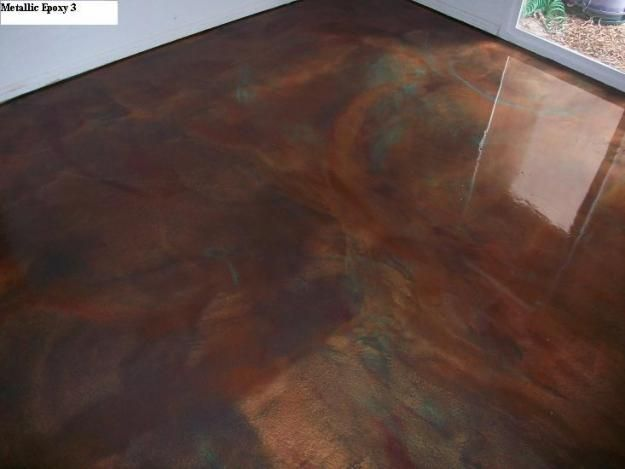 Metallic Epoxy Concrete Floor Concrete Finishes