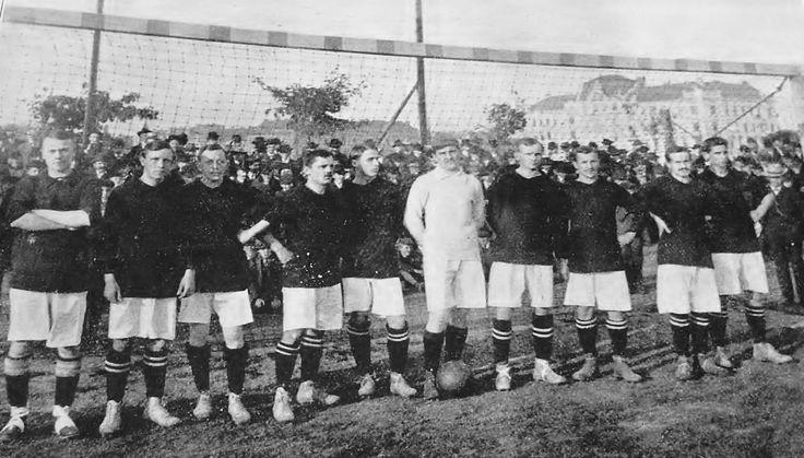 AC SPARTA PRAHA, 1908.   (lbk)