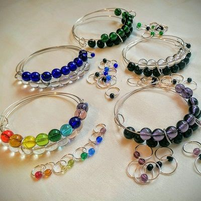17 Best images about Stitch Markers on Pinterest Knitting stitches, Markers...