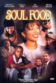 Soul Food Poster  Matriarch Mama Joe has held her family together for 40 years around a Sunday dinner of soul food. When diabetes hospitalizes her... See full summary »    Director: George Tillman Jr.  Writer: George Tillman Jr.  Stars: Vanessa Williams, Vivica A. Fox and Nia Long | See full cast and crew