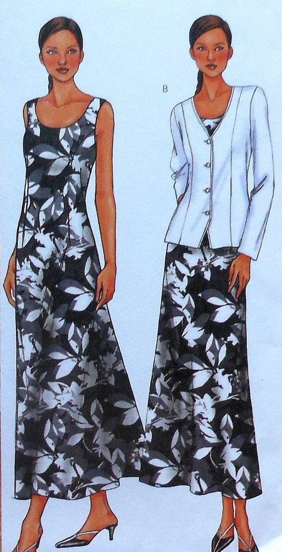 Dress and Jacket Sewing Pattern