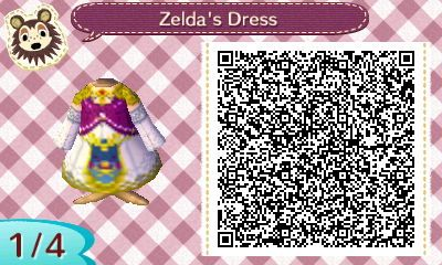 ZELDAS DRESS (TWILIGHT PRINCESS) ANIMAL CROSSING NEW LEAF ...