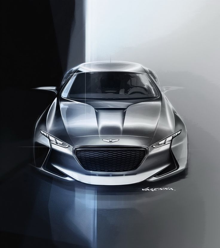 Genesis New York Concept Is A Hybrid Sports Sedan That Eyes BMW's 3-Series
