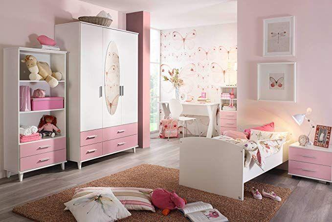 Jugendzimmer Kinderzimmer Komplett Set Jugendmobel Kleiderschrank Bett Mit Massen Nachtschrank Kinderzimmer Kind Kinder Zimmer Jugendzimmer Kinderzimmer