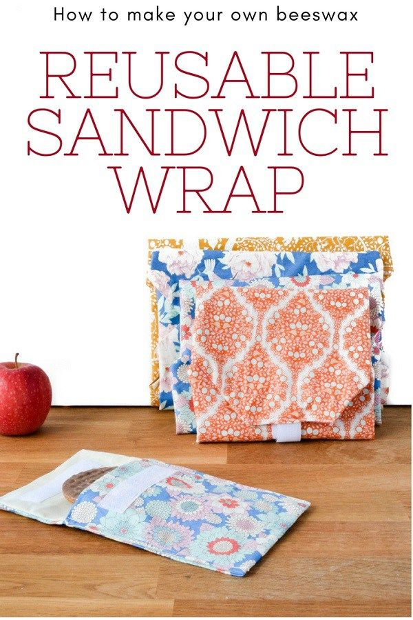 Sandwich wrap sewing tutorial charmed by ashley.