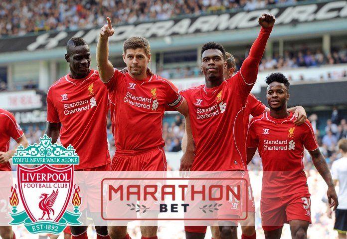 Marathonbet стала региональным партнером клуба «Ливерпуль».  Оператор онлайн-ставок Marathonbet заключил партнерское соглашение с футбольным клубом английской Премьер-Лиги «Ливерпуль» (Liverpool FC) на три года, начиная с сезона 2015-2016 до конца сезона 2017-2018.