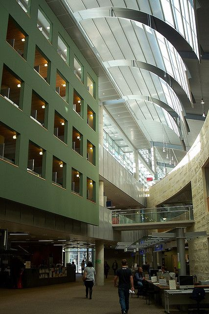 University of Otago Central Library, New Zealand