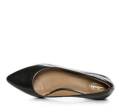Nilson Shoes Ballerinat CLARKS, CORABETH ABBY Nahka Musta