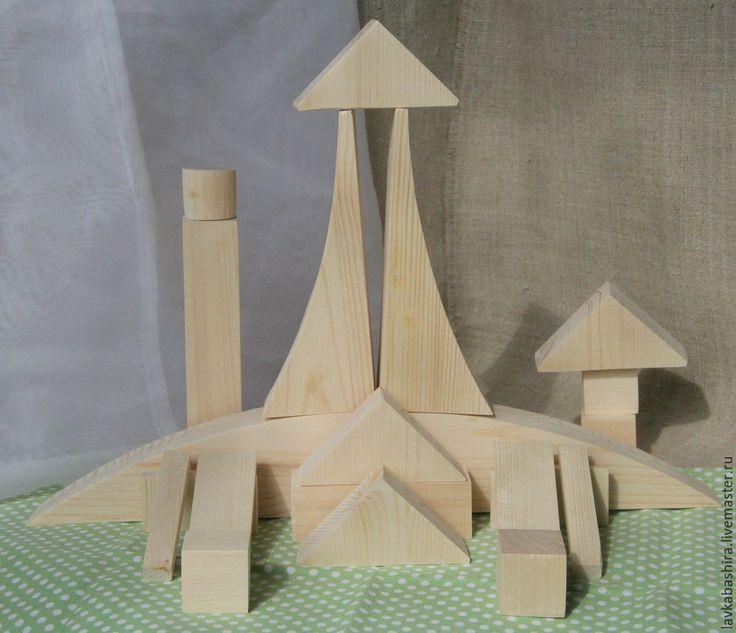 Купить конструктор Bauhaus Bauspiel (аналог) - Конструктор, bauhaus, баухауз, развивающий конструктор, кубики