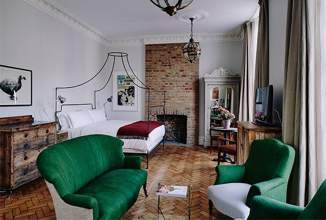 Artist Residence, London, England | small luxury hotels, boutique hotels