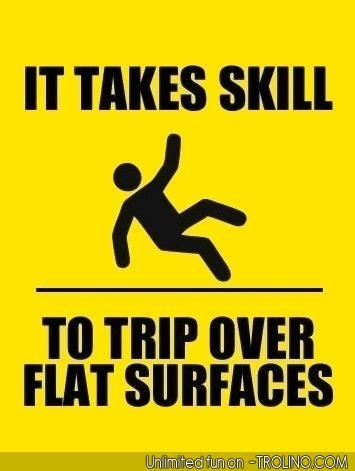 and I've mastered that skill!
