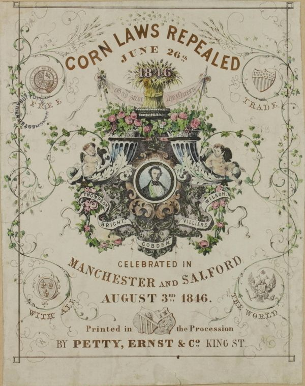 Cobden and the Anti-Corn Law League - Online Library of Liberty