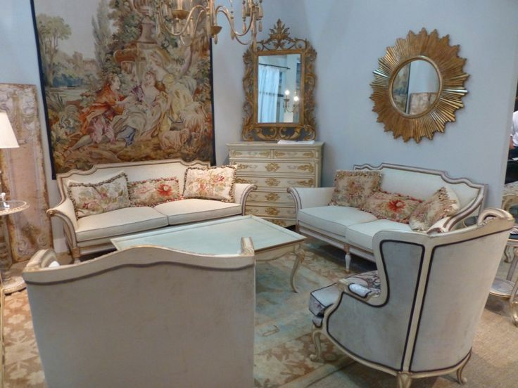 French Style Lounge room