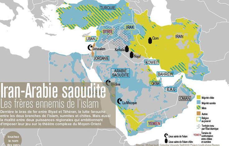 """Arabie Saoudite - Iran, """"les intérêts géopolitiques instrumentalisent le religieux"""" - leJDD.fr"""