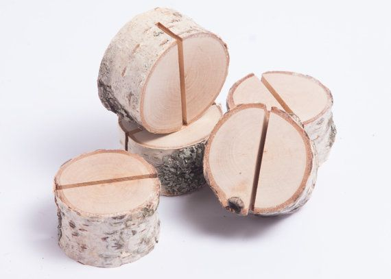 Best 25 Rustic Place Card Holders Ideas On Pinterest