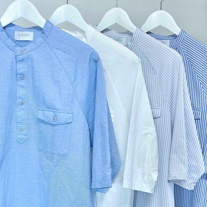 〈フリストフィア〉からこの季節にぴったりなカットソーの新提案   長年愛着している古着のような着用感、素材感を引き出せるアイテムの提案を行うカットソーレーベル〈フリストフィア(FLISTFIA)〉から、これからの季節にぴったりなカットソーが発売された。    2017春夏を象徴させる少し大きめのシルエットや、袖のラグランスリーブデザインでリラックス感を演出。カットソーながらハイゲージで編み立てている生地を使用しているため、シャツ生地のようなしっかり...