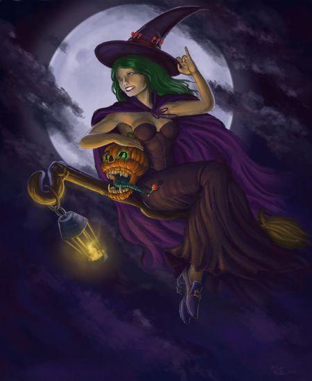 witchy witchteriopideviantartcom - Halloween Witchcraft