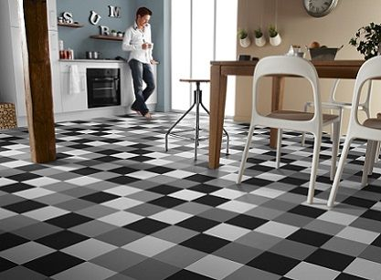 Match your kitchen flooring to your own unique style