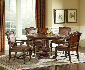 Antique Dining Room Chairs With Casters