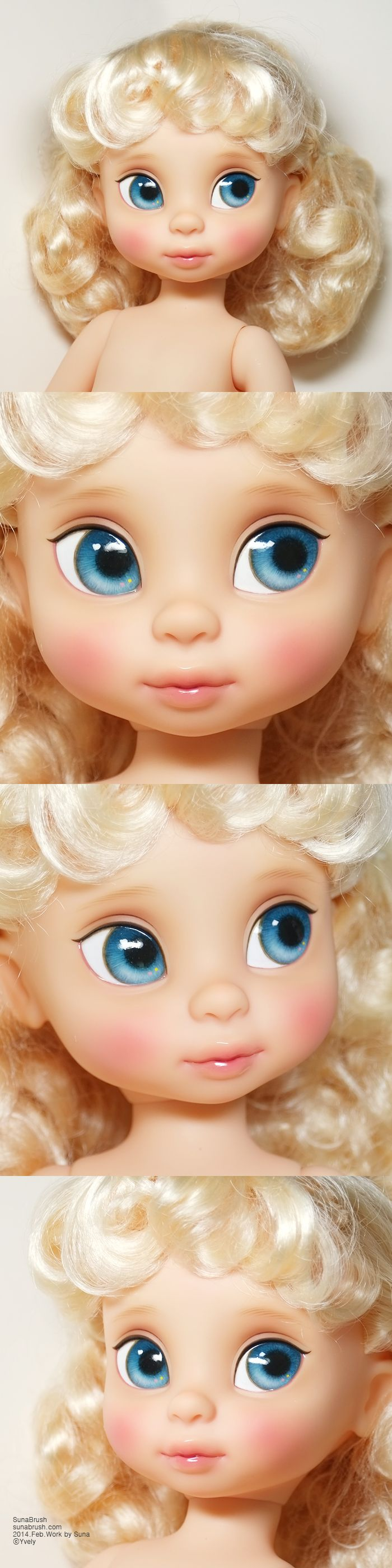 Disney Animators Collection Dolls - Cinderella by Yvely.deviantart.com on @DeviantArt