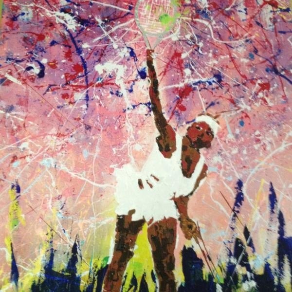 Twitter / st_artonline: Check out our pictures by Rhinold Ponder. Title: Serena Slam