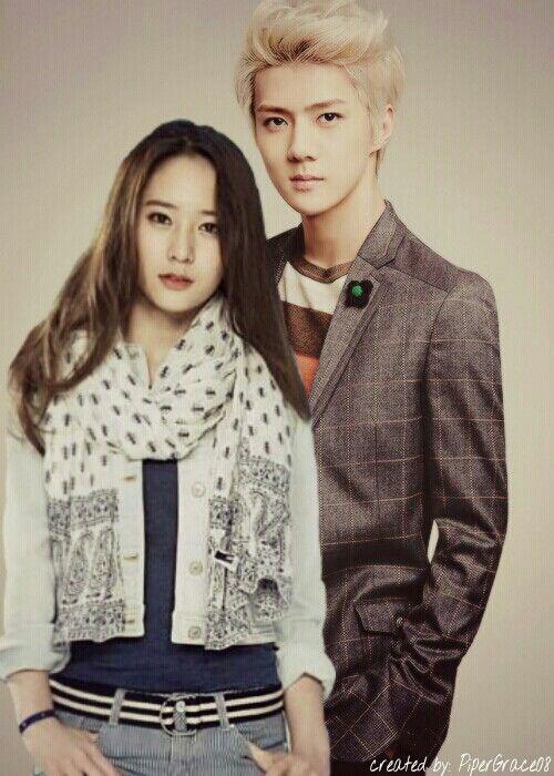 Sestal hunstal Sehun Krystal Jung Soo jung Oh Se Hun edited by me
