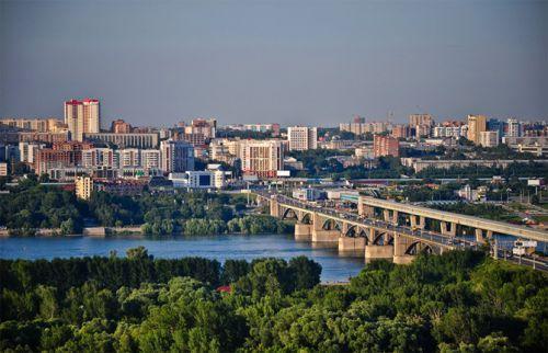 новосибирск - большой молодой город