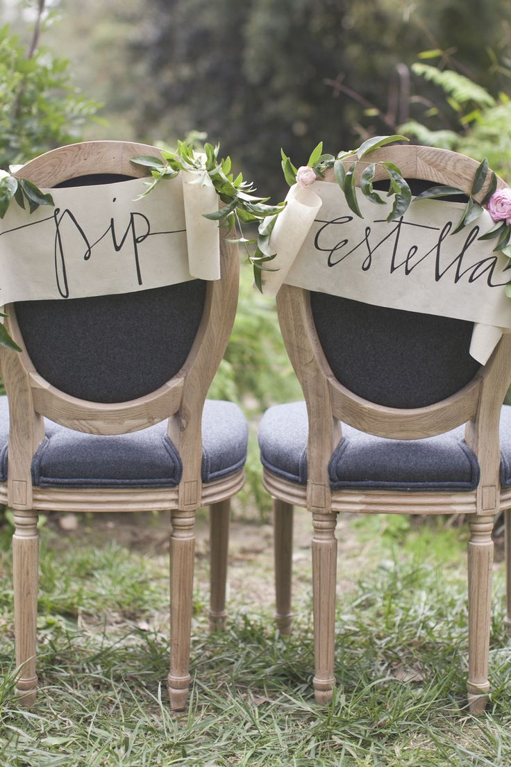 chair scrolls / photographed by Heidi of Our Labor of Love