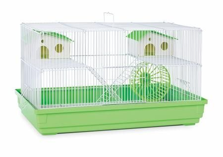 Deluxe Hamster & Gerbil Cage - Bordeaux Red