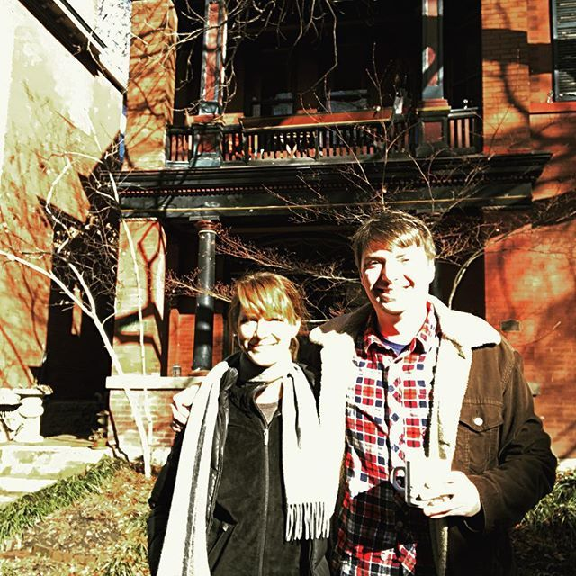 by thelynnshelton / Lynn Shelton: #tb to our Ole Kentucky Nuclear Blast Lit Home #writingretreat @mikeobrien12345tb,writingretreat.  location: Louisville, Kentucky. date: 1517897130