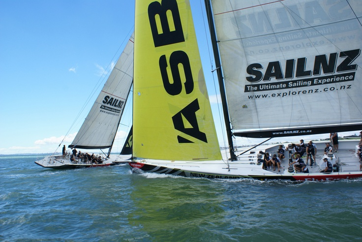 Match Racing - Teambuilding on America's Cup vessels