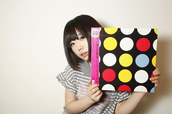 nemu with doctor head's vinyl