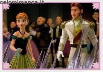 Frozen 2 - Momenti Magici: Fronte Figurina n. 145