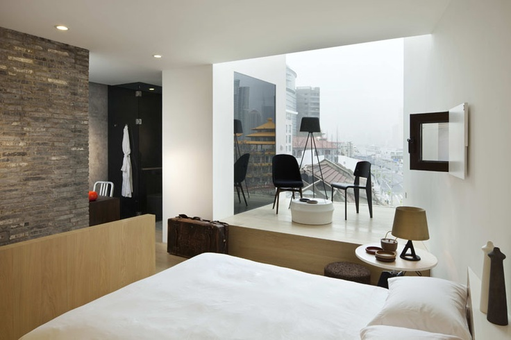 The water house is Luxury Boutique hotel on the south bund in Shanghai