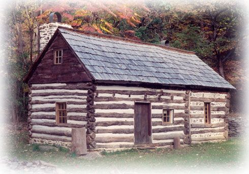 Middle Colony Houses Log Cabin Middle Colonies