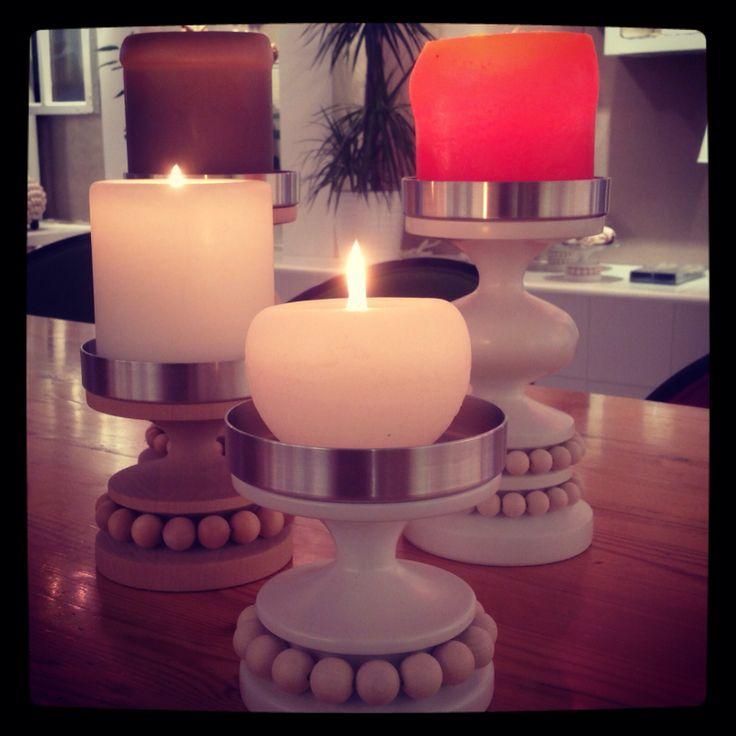 Aarikka candleholders.