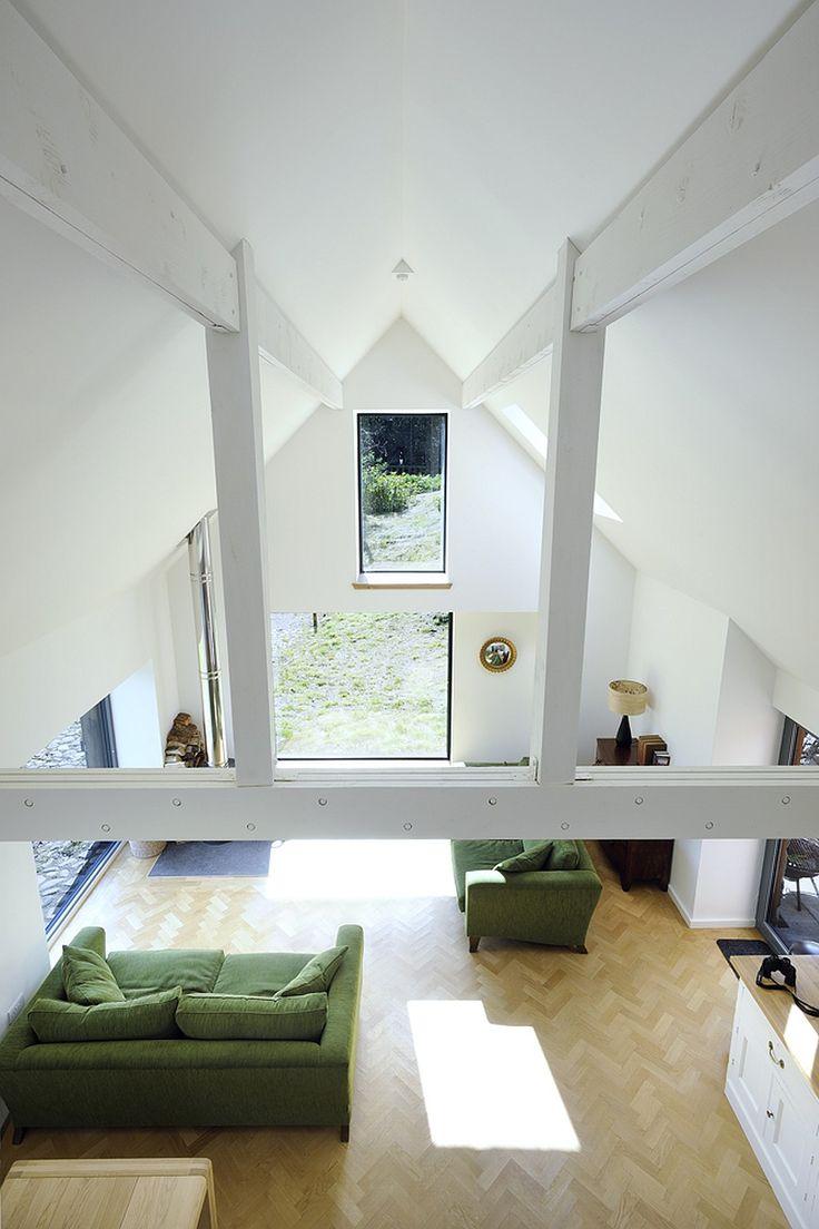 Leachachan Barn – nowoczesna STODOŁA   wnętrza & DESIGN   projekty DOMÓW   dom STODOŁA