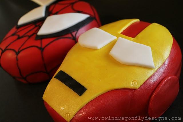 Dragonfly Designs: Superhero 5th Birthday Party