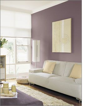 Dusted Damson Wall House Things Pinterest Colour Bedroom Wall And Feat